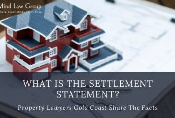 What is The Settlement Statement Property Lawyers Gold Coast Share The Facts